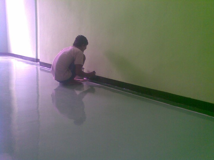 EPOXY LANTAI OFFICE
